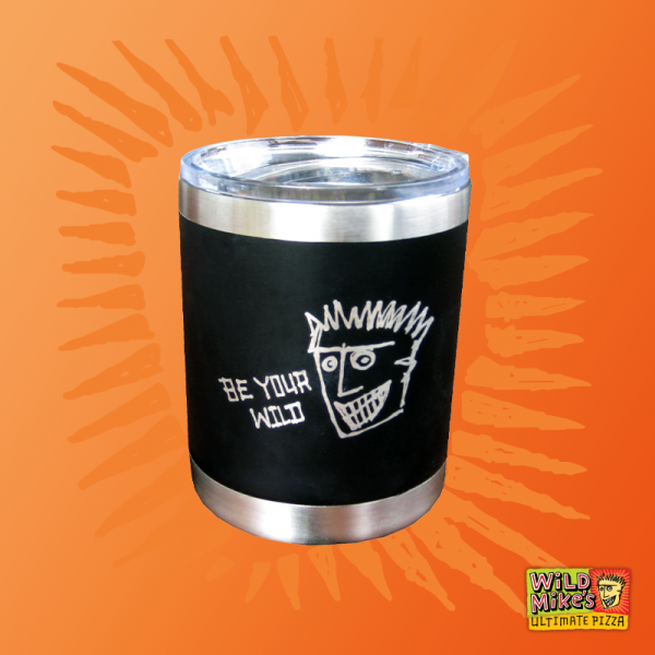 Wild Mike's insulated travel tumbler